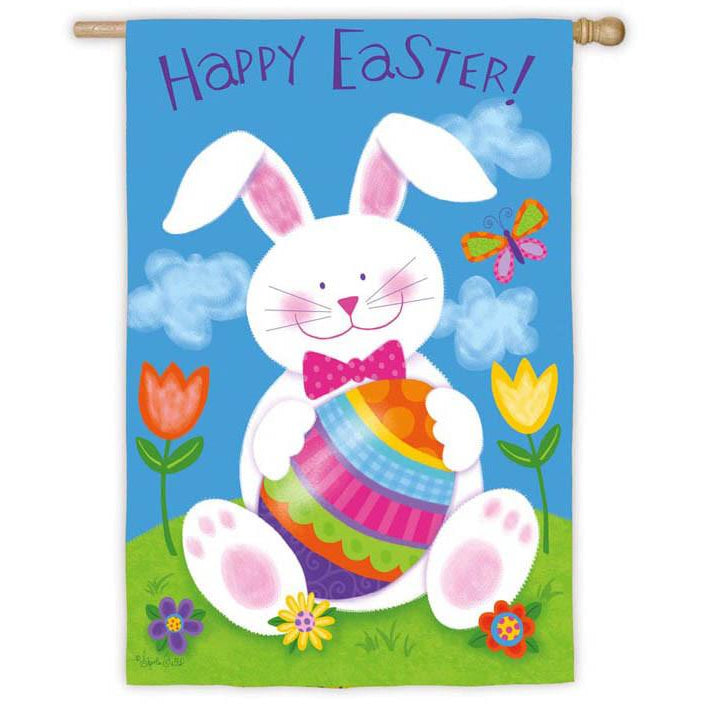 Easter Bunny - House Flag - FlagsOnline.com by CRW Flags Inc.