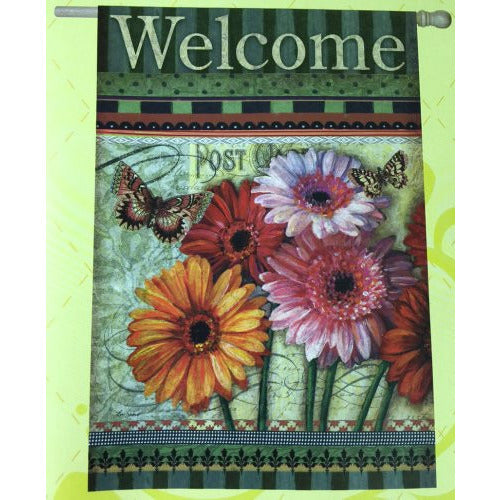 Floral Wishes - Garden Flag - FlagsOnline.com by CRW Flags Inc.