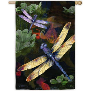 Dragonfly - House Flag - FlagsOnline.com by CRW Flags Inc.