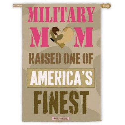 Military Mom - House Flag - FlagsOnline.com by CRW Flags Inc.