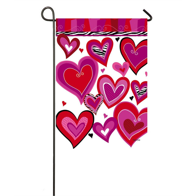 Kiss Me - Garden Flag - FlagsOnline.com by CRW Flags Inc.