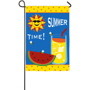 Summer Time - Garden Flag - FlagsOnline.com by CRW Flags Inc.