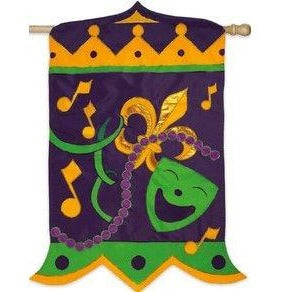 Mardi Gras Magnificence - House Flag