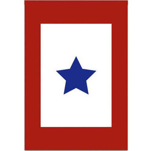 Service Star - Garden Flag - FlagsOnline.com by CRW Flags Inc.