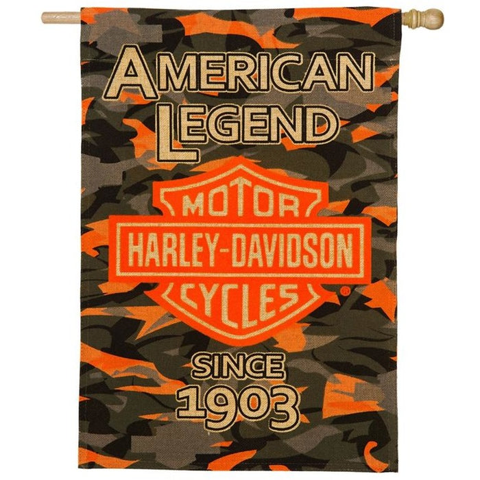 Harley - Camo - House Flag
