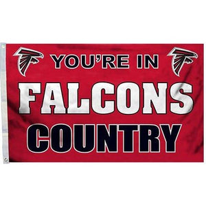 Atlanta Falcons Country 3x5ft Flag