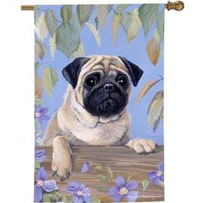 Pug II - House Flag - FlagsOnline.com by CRW Flags Inc.