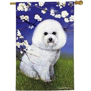 Bichon Frise II - House Flag - FlagsOnline.com by CRW Flags Inc.