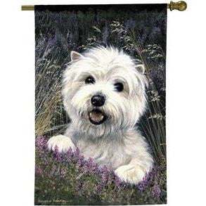 Westie I - House Flag - FlagsOnline.com by CRW Flags Inc.