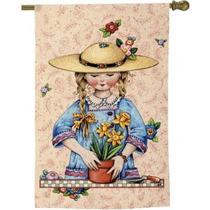 Daffodil Girl - Garden Flag - FlagsOnline.com by CRW Flags Inc.