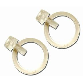 "1"" Flag Mounting Rings Pair - FlagsOnline.com by CRW Flags Inc."