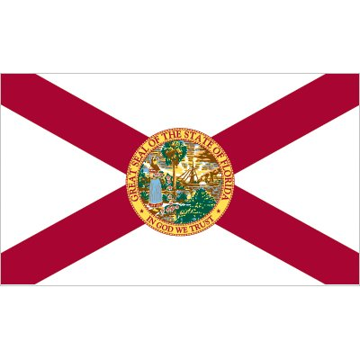 Florida Flag - Nylon