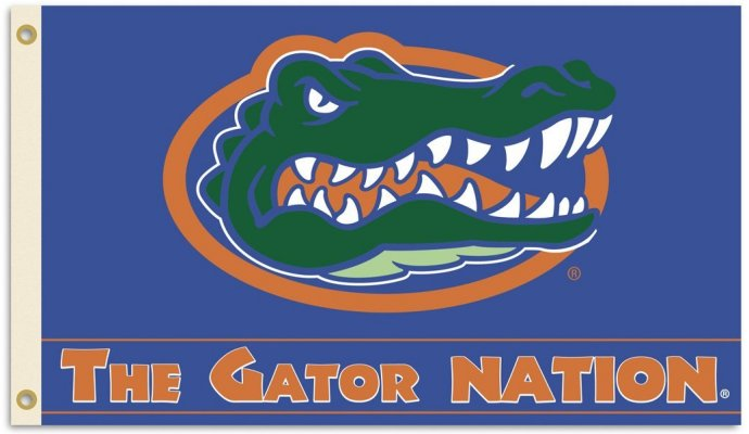 University of Florida Gator Nation 3x5ft Flag