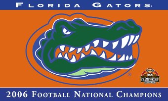 University of Florida 2006 Champs 3x5ft Flag