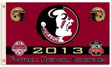Florida State University 2014 Champs 3x5ft Flag
