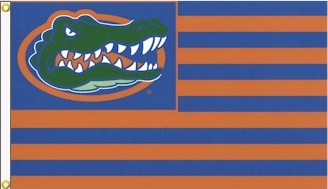 University of Florida Striped 3x5ft Flag