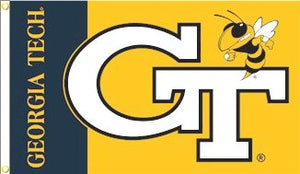 Georgia Tech University 3x5ft Flag