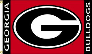 University of Georgia 3x5ft Flag