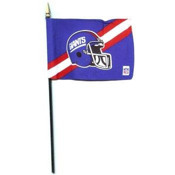 New York Giants 4x6in Stick Flag