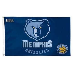 Memphis Grizzlies 3x5ft Deluxe Flag