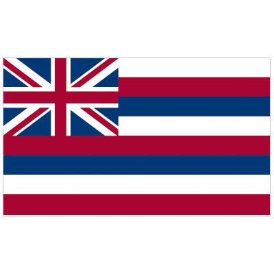 Hawaii Flag - Industrial Polyester