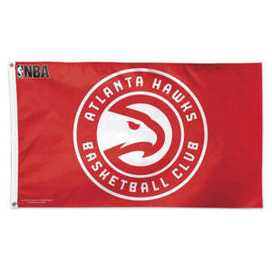 Atlanta Hawks 3x5ft Deluxe Flag