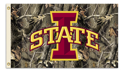 Iowa State University Camo 3x5ft Flag