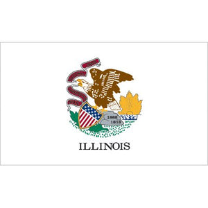 Illinois Flag - Nylon