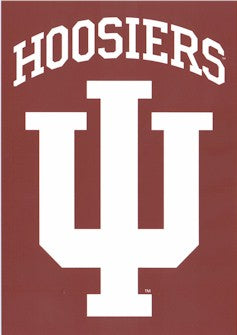 Indiana University House Flag 2 Sided