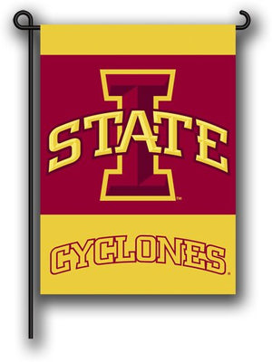 Iowa State University Garden Flag 2 Sided