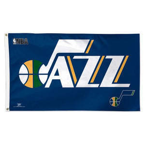 Utah Jazz 3x5ft Deluxe Flag
