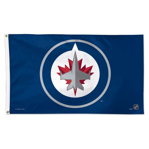 Winnipeg Jets 3x5ft Deluxe Flag