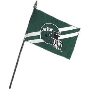 New York Jets 4x6in Stick Flag