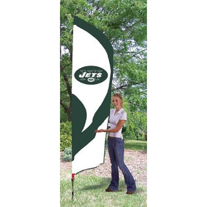 New York Jets 8ft Feather Sewn Flag Kit