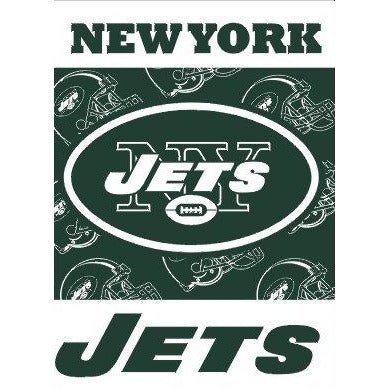 New York Jets House Flag 2 Sided