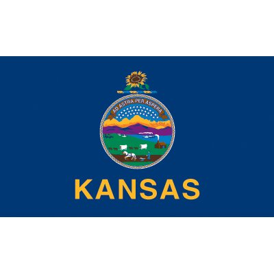Kansas Flag - Nylon