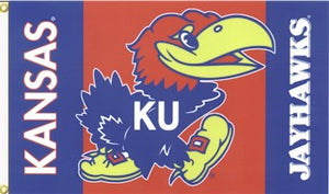 University of Kansas 3x5ft Flag