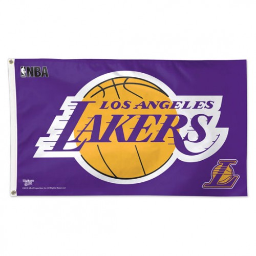 Los Angeles Lakers 3x5ft Deluxe Flag
