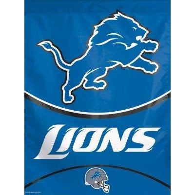Detroit Lions House Flag