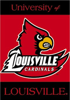 University of Louisville House Flag 2 Sided