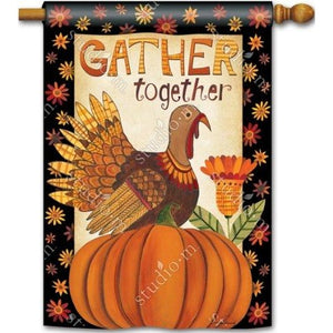Gather Together - Garden Flag