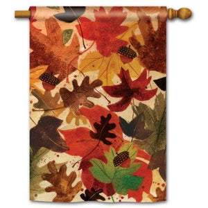 Fallen Leaves - House Flag