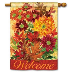 Autumn Bouquet - House Flag
