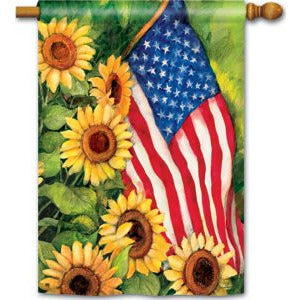 American Sunflowers - House Flag - FlagsOnline.com by CRW Flags Inc.