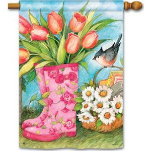 Garden Boots - Garden Flag - FlagsOnline.com by CRW Flags Inc.