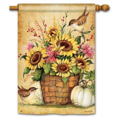 Sunflower Mix - Garden Flag