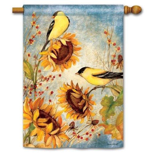 Yellow Finches - House Flag