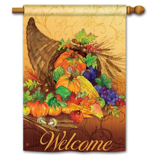 Bountiful Harvest - Garden Flag - FlagsOnline.com by CRW Flags Inc.