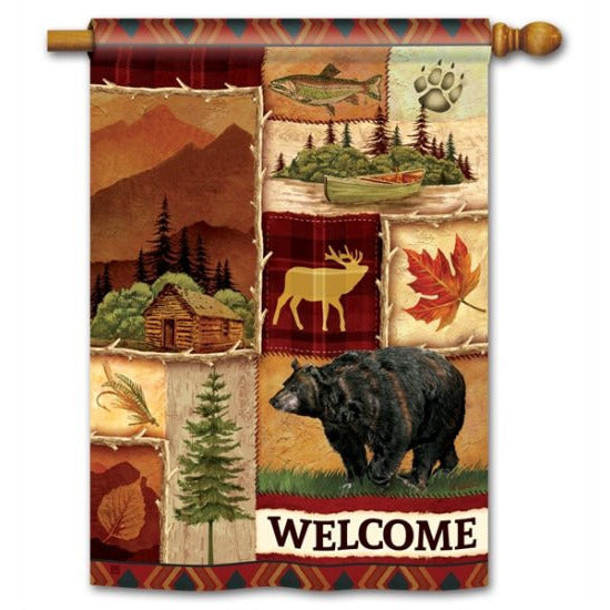 Cabin Fever - Garden Flag - FlagsOnline.com by CRW Flags Inc.