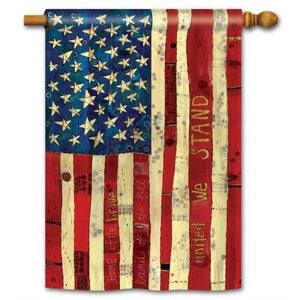 Home Of The Brave - Garden Flag